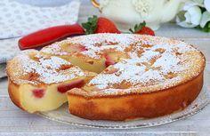 Clafoutis léger aux fraises WW, recette d'un savoureux clafoutis parfumé à la vanille et très moelleux facile et rapide à réaliser pour un dessert gourmand.