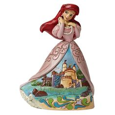 Disney Traditions Ariel Figurine - Sanctuary by the Sea - Jim Shore - 4045241 #FineGiftsNottingham #ArielFigurineSanctuaryByTheSeaDisneyTraditionsJimShore