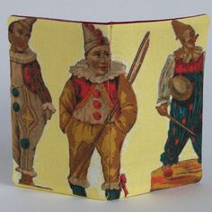 Card Holder Clowns Circus Carnival Smiling by sharlzndollz on Etsy, $5.30