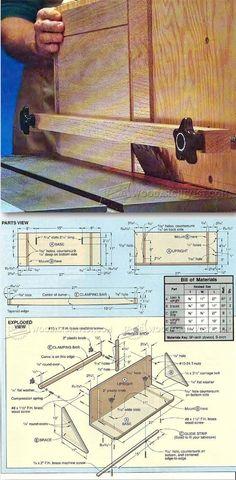 Panel Raising Jig - Cabinet Door Construction Techniques   WoodArchivist.com