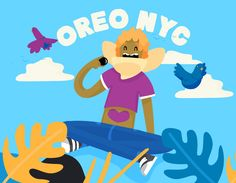 "查看此 @Behance 项目:""OREO NYC Stories - 2D CAMPAIGN""https://www.behance.net/gallery/41874667/OREO-NYC-Stories-2D-CAMPAIGN"
