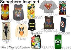 Superhero Inspired