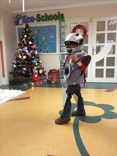 Made by dad 😜 #robotcostume #robot #diy #costume #robot