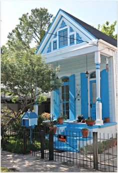 I miss it. Bad. New Orleans Homes and Neighborhoods » Shades of Blue, New Orleans Homes and cottages…