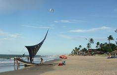 Praia do ceará - Brasil Beach of the Ceará - Brazil