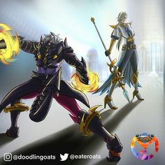 Mobile Legend Wallpaper, Mobile Legends, Anime Demon, True Colors, My Best Friend, Video Game, Hero, Fan Art, Animation