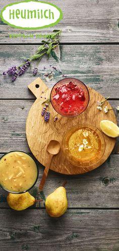 Ein Hauch von Provence liegt in der Luft, wenn dieses Gelee auf köstlichen Käse trifft Provence, Marmalade, Milk, Credenzas, Hay, Pear, Aix En Provence
