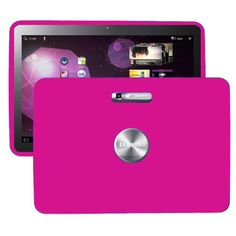 Soft Shell (Pink) Samsung Galaxy Tab 10.1 P7100 Cover