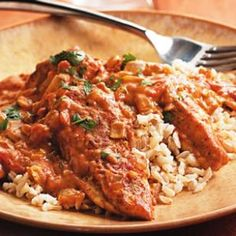 Quick Chicken Tikka Masala ... substitute full-fat coconut milk for the whipping cream