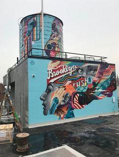 Street Art News, Street Artists, Creative Poster Design, Creative Posters, Hawaii In February, Wynwood Walls Miami, Installation Street Art, Margaret Bourke White, Italy Street