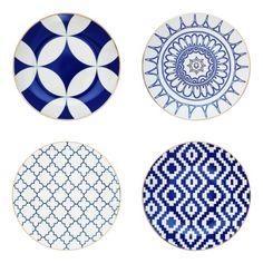 blue and white zmdecor.com