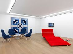 An exhibition at Galerie Perrotin showcases the work of an innovative French designer at home with '60s Pop and the presidential…