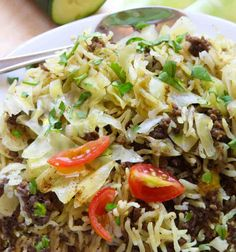 Instant Pot Ground Beef Shwarma and Rice combines ground beef and rice with spices to create a new twist on comfort food in your pressure cooker .