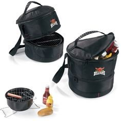 Chill and Grill Promotional Can Cooler and Portable Grill - 15 Can