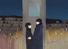 Anime Couples, Cute Couples, Park Go Bum, Korean Illustration, Cute Couple Cartoon, Hallyu Star, Song Hye Kyo, Wallpaper Quotes, Lovers Art