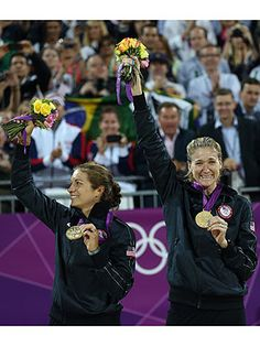 Misty May-Treanor & Kerri Walsh Jennings Make It Three for Three| Summer Olympics 2012