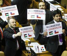 Chilean Parliamentarians demand an end to the massacre in Gaza