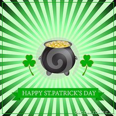 Happy St. Patricks Day. 17 March.