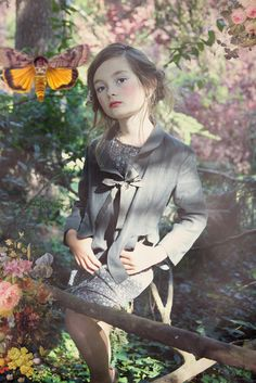 A romantic and retro feel to the photography of NORO Kids spring 2015 campaign