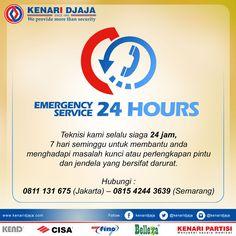 Pelayanan terbaik kami adalah pelayanan service 24 jam non stop,  Kami Akan Selalu Melayani Anda dalam situasi dan keadaan apapun…. Silahkan Hubungi kami untuk pelayanan tercepat dan terbaik dari kami  Informasi Hub. : Ibu Tika 0812 8567 7070 ( WA / Telpon / SMS ) 0819 0506 7171 ( Telpon / SMS )  Email : digitalmarketing@kenaridjaja.co.id  [ K E N A R I D J A J A ] PELOPOR PERLENGKAPAN PINTU DAN JENDELA SEJAK TAHUN 1965  SHOWROOM :  JAKARTA & TANGERANG 1 Graha Mas Kebu..