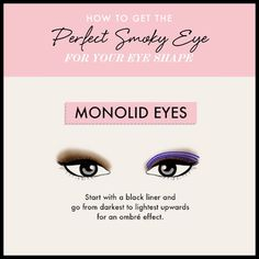 Monolid Eyes - Land The Perfect Smoky Eye for Your Eye Shape
