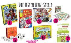 """Mensch ärgere dich nicht"": Gesellschaftsspiele mit Lerneffekt Monopoly, Trends, Games, Studying, Gaming, Plays, Game, Toys, Beauty Trends"
