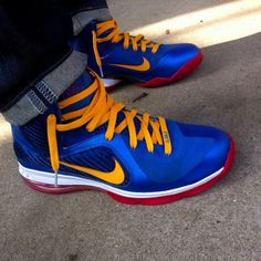 sneakers for cheap e8b9d 6a4c6 NIKEiD LeBron 9 Superman - NIKEiD Nike By You Superhero Designs | Sole  Collector