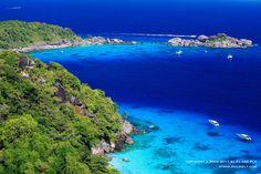 Tachai island Phuket, Thailand