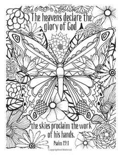 Amazon.com: Color Godu0027s Creation: An Adult Coloring Book For Your Soul ( Color The Bible) (9780736968843): Caroline Simas: Books