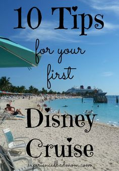 Here are 10 quick, handy, and useful tips for families about to embark on their first Disney Cruise! You'll be better prepared to sail with Mickey and friends after reading these tips. See ya real soon!