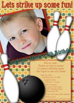 boys bowling themed birthday party | -invitations-masculine-little-boy-bowling-themed-birthday-party ...