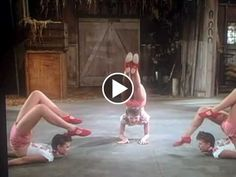 On spinal flexibility and body control. Ross Sisters - A Crazy Dance Video From 1944 (Watch After 1:00)