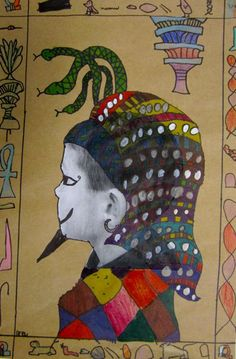 Georgetown Elementary Art Blog: Egyptian art project