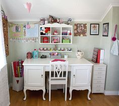 Craft corner by MayaLee Photography, via Flickr