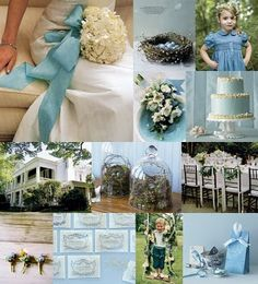 DREAM wedding blue robins egg inspo set from snippet and ink