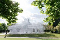 Serpentine Pavilion (2013) by Sou Fujimoto