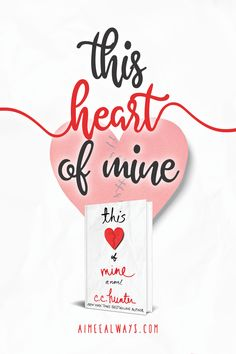 Book Review: This Heart of Mine by C.C. Hunter // 3 stars // young adult, ya, romance, contemporary, mystery, thriller, heart disease, heart transplant, murder
