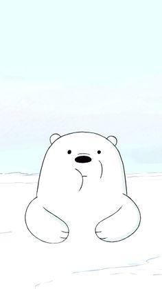 * We Bare Bears * Application Screen Wallpaper Kawaii, Bear Wallpaper, Cute Disney Wallpaper, Cute Wallpaper Backgrounds, Screen Wallpaper, Ice Bear We Bare Bears, 3 Bears, Cute Bears, Panda Bears