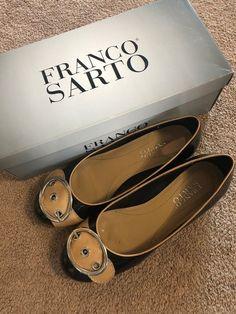 ecd42045fa5fe1 Franco Sarto 7 Flats Oswego-Black Size 7 WITH BOX  fashion  clothing  shoes   accessories  womensshoes  flats (ebay link)