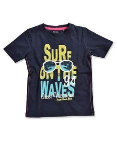 Blue seven t-shirt donkerblauw  #shirt #zomer #donkerblauw #stoer #jongen
