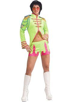 Liverpool Luv Costume, Fancy Dress - Music Legends Costumes at Escapade 1960s Costumes, Costumes For Sale, Retro Costume, 1960s Fancy Dress, Adult Fancy Dress, John Lennon Beatles, The Beatles, Ear Hair Trimmer, Joker Costume