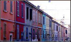 Parma, via della salute. My favourite street, the place I dream to live one day!