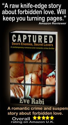 """""""I cried like a damn baby with this book. But otherwise, I loved it!"""" Amazon reader  #RomanticCrime #Crime$Suspense #FreeOnKindleUnlimited Amazon UK:  http://www.amazon.co.uk/CAPTURED-Sworn-Enemy-Secret-Lover-ebook/dp/B0088IBIZC"""