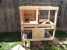 Best Rabbit Hutch Plans Ever - Construction