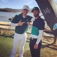 Justin Timberlake: What a day hanging with my boy, and seeing what the pros see on a Sunday at Pebble Beach! Justin Timberlake, Pebble Beach, My Boys, Hollywood, Couple Photos, Celebrities, Sunday, Couple Shots, Celebs
