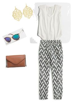 """""""Untitled #219"""" by smag on Polyvore featuring J.Crew and Susan Shaw"""