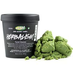 Herbalism by Lush | Read reviews good to combat acne even though it looks rather odd, I think i will give it a try!