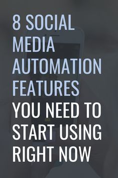 8 Social Media Automation Features You Need to Start Using Right Now - Social Media Scheduling - Schedule your social media post and save your time. - 8 Social Media Automation Features You Need to Start Using Right Now Social Media Automation, Social Media Analytics, Marketing Automation, Social Media Content, Social Media Tips, Social Media Marketing, Marketing Quotes, Facebook Marketing, Online Marketing