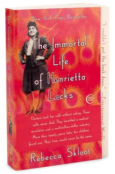 Immortal Life of Henrietta Lacks- I gobbled up this book! I loved the science and ethical implications that were an integral part of this true event.