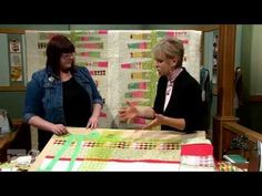 The Quilt Show: Julie Cefalu - Tips, Tricks, & Techniques - Perfect Quarter-Inch Seam Allowance - YouTube
